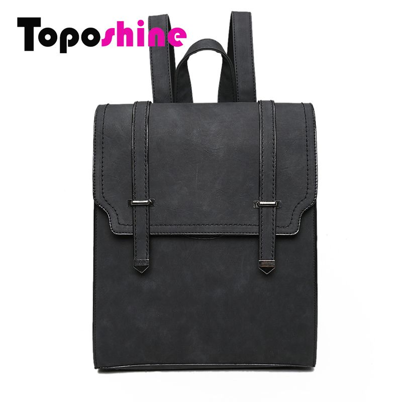 Toposhine 2016 HOT New Designed Brand Cool Urban Backpack Double Arrow Women Backpack Quality Fashion Girls School Bag 1592