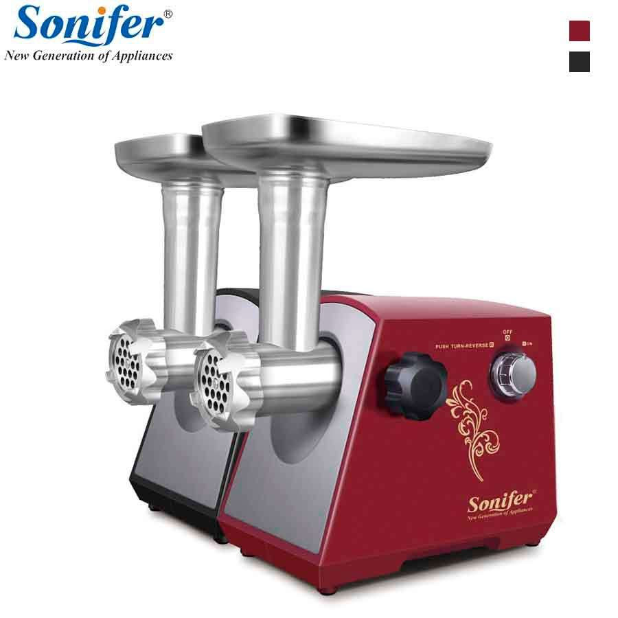 1200W Colorful Home Electric Meat Grinder Sausage Stuffer Mincer 220V Heavy Duty Household Mincer Sonifer