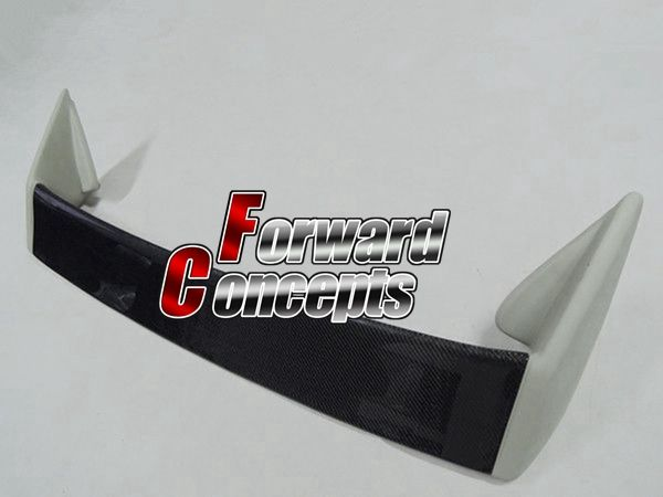 FOR CARBON FIBER BLADE 95-98 S14 240SX 200SX SILVIA KOUKI REAR WING TRUNK SPOILER