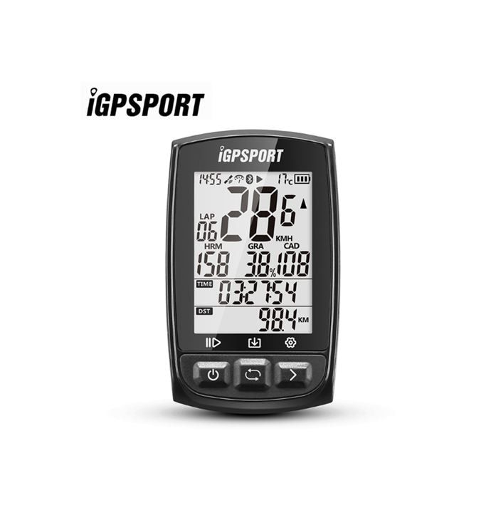 New IGPSPORT IGS50E ANT+ GPS Bluetooth Bicycle Wireless Stopwatch Speedometer Cycling Bike Computer Support Waterproof