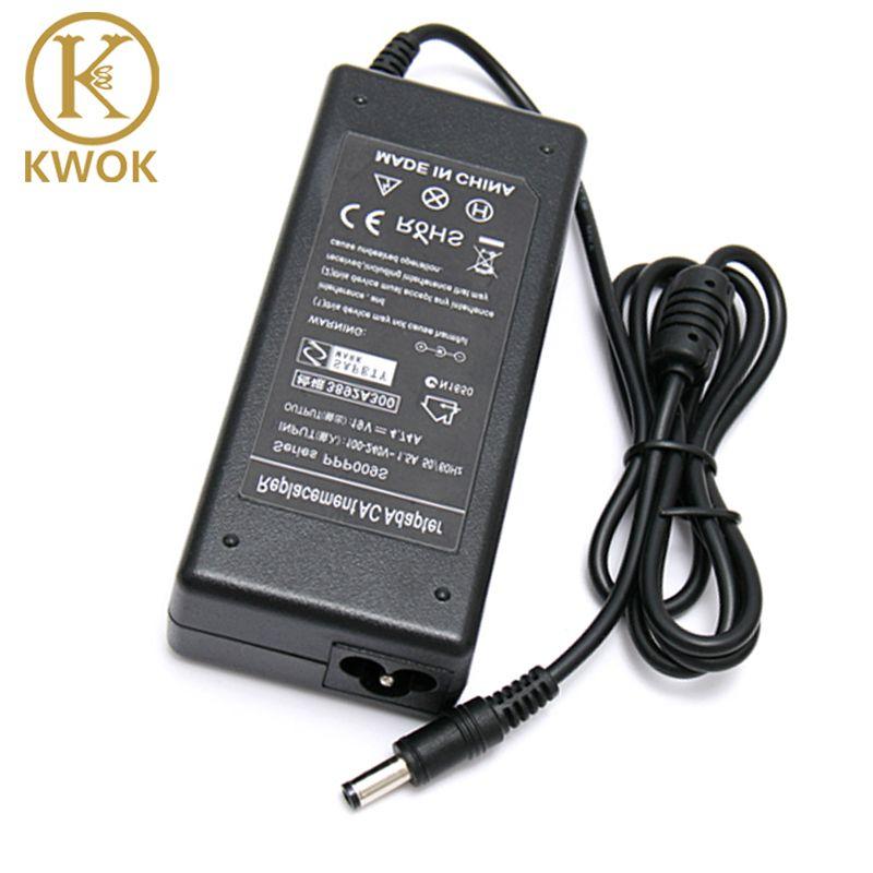 19 V 4.74A AC alimentation chargeur adaptateur pour ordinateur portable ASUS A46C X43B A8J K52 U1 U3 S5 W3 W7 Z3 pour Toshiba/HP Notbook