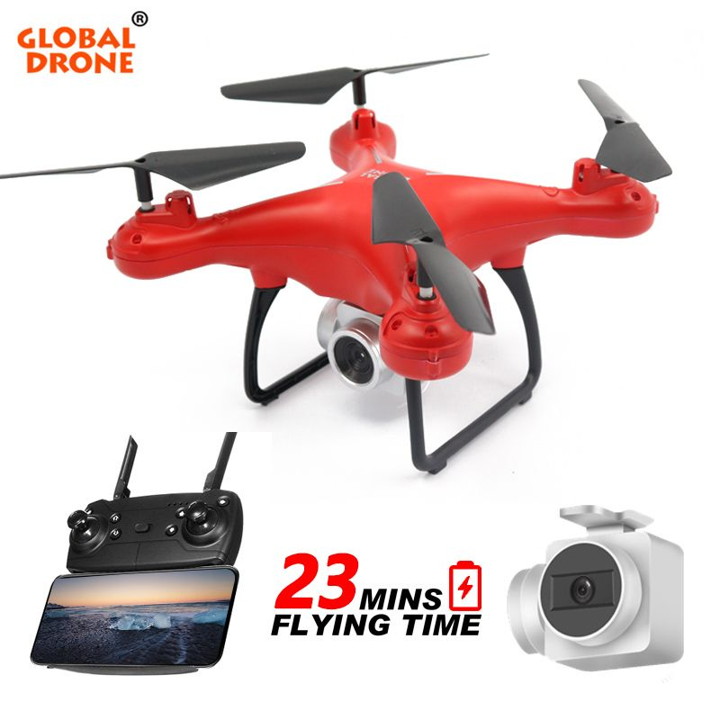 Global Drone GW26 4CH 6 Axis Gyro Long Time Flying Altitude Hold Profissional Wifi FPV Drones With Camera HD Quadrocopter