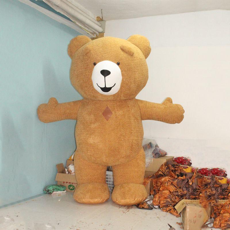 Neue Stil 3 mt Aufblasbare Kostüm Aufblasbare Teddybär Für Werbung Anpassen Für Erwachsene Geeignet Für 1,7 mt Zu 1,9 mt Erwachsene