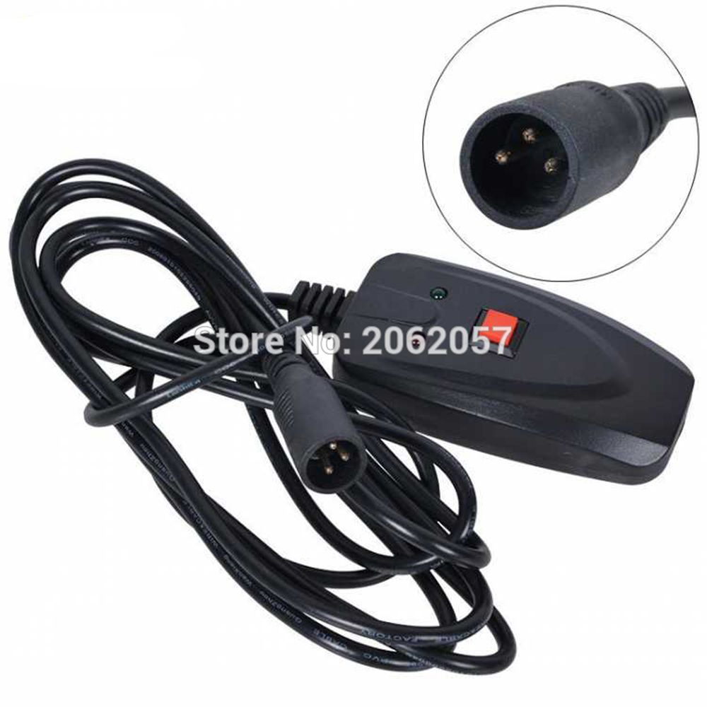 free shipping 3m wire controller for 400w 900w 1500w fog machine wire control for smoke machine