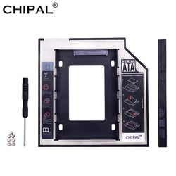 CHIPAL Universal SATA 3.0 2nd HDD Caddy 9.5mm for 2.5