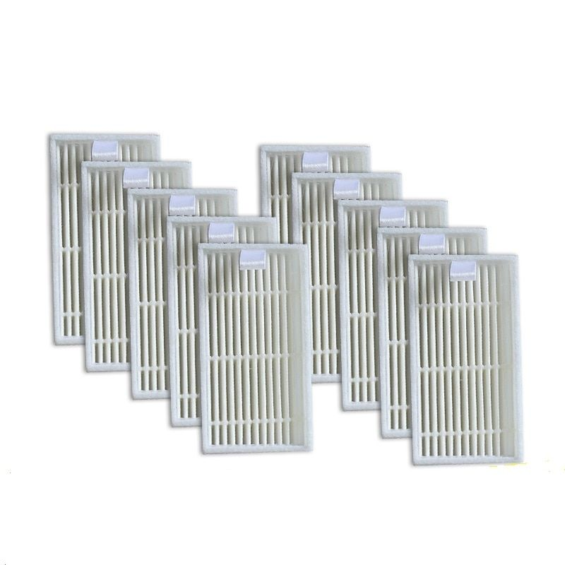 10 piece HEPA Filter for CHUWI V3 iLife V5 V3+  V5PRO Robot Vacuum Cleaner Robotic Vacuum Cleaner for Home