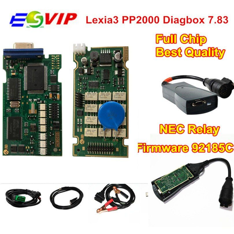 Professional Lexia Lexia3 PP2000 Full Chips With Diagbox V7.83 Lexia 3 Firmware Serial No. 921815C Diagnostic Tool