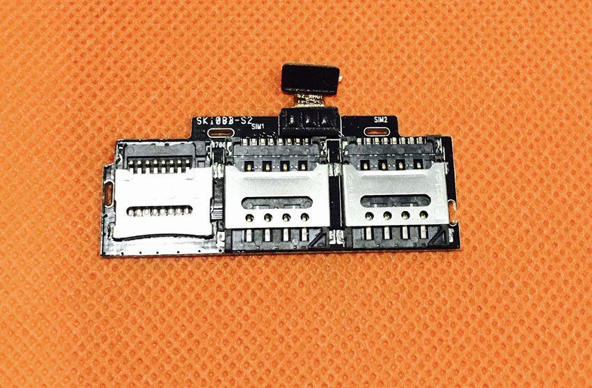Original Sim Card Holder Tray Card Slot for iMAN Victor MTK6755 Octa Core 5.0