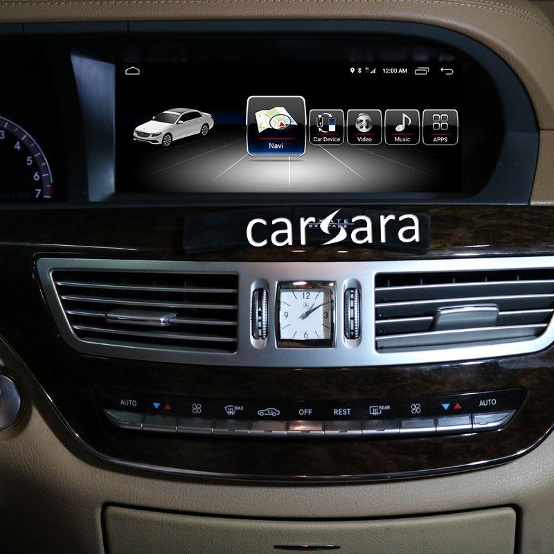 4G RAM Android bildschirm für S Klasse W221 2005-2013 10,25 touch display GPS Navigation radio stereo kopf einheit multimedia player