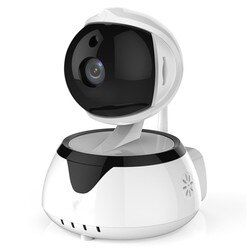 Security Camera 720P robot HD video Wireless Home Security Surveillance 360 Night Vision Two-way Audio Motion Detection Indoor
