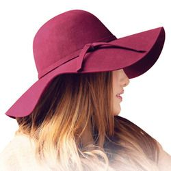 Automne hiver Été feutrés de mode vintage pur Femmes de Plage Soleil chapeau femmes ondes bord large capeline feutrés dame soleil chapeau