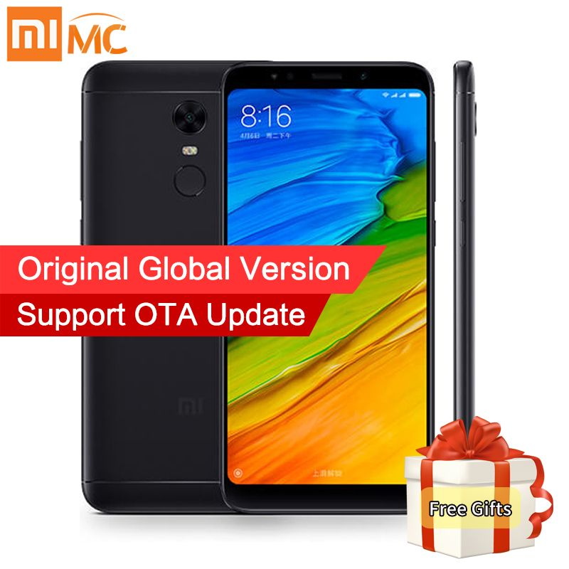 Free Case! Global Version Xiaomi Redmi 5 Plus 4GB 64GB 5.99