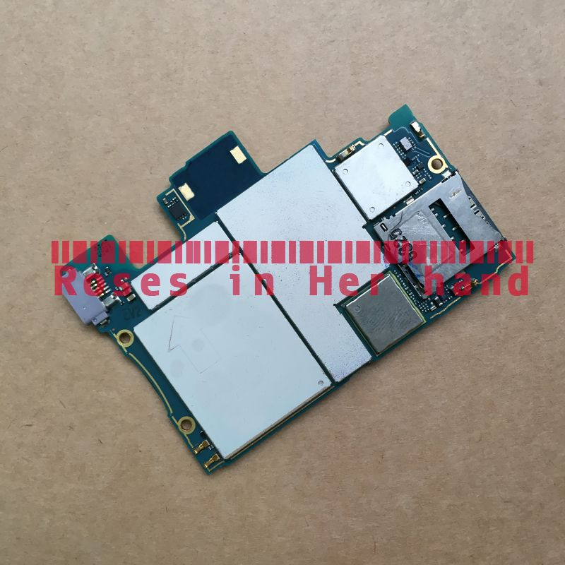 Full Working Original Unlocked For Sony Xperia Z C6603 C6606 SO-02E LTE Motherboard Logic Mother Circuit Board Lovain Plate