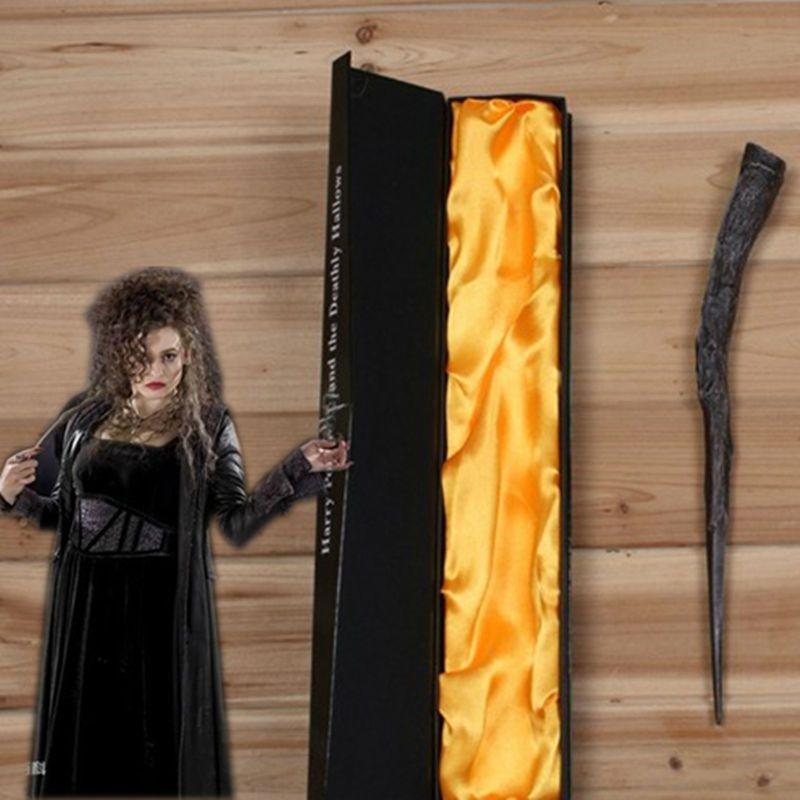 Creavite Magie Беллатрикс Лестрейндж Волшебная палочка Гарри Поттер Косплэй дети Игрушечные лошадки подарок на Хэллоуин с высокое качество упако...