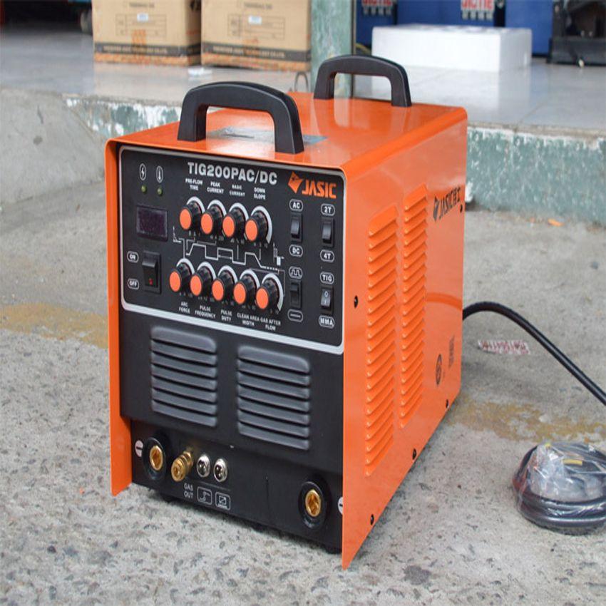 High Quality JASIC WSE-200P TIG200P spot welder TIG/MMA Square Wave Pulse Inverter Welder 220-240V aluminum welding machine