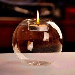 Портативная Горячая продажа классическая хрустальная стеклянная подставка для свечи Свадебная бар вечерние домашний декоративный подсве...
