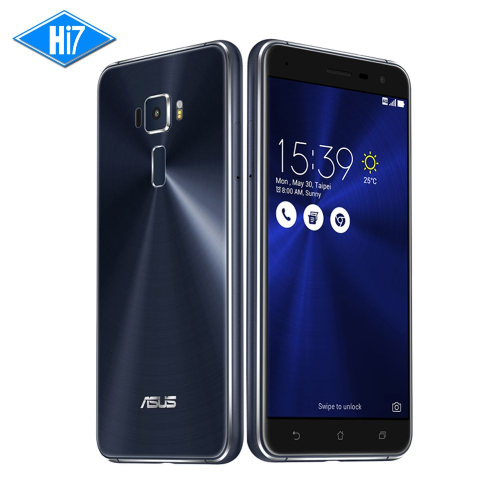 New Asus ZenFone 3 ZE552KL 64G ROM 4G RAM mobile phone Android 6.0 Qualcomm Octa Core 2.5D gorilla glass 1080P 5.5'' 16.0MP