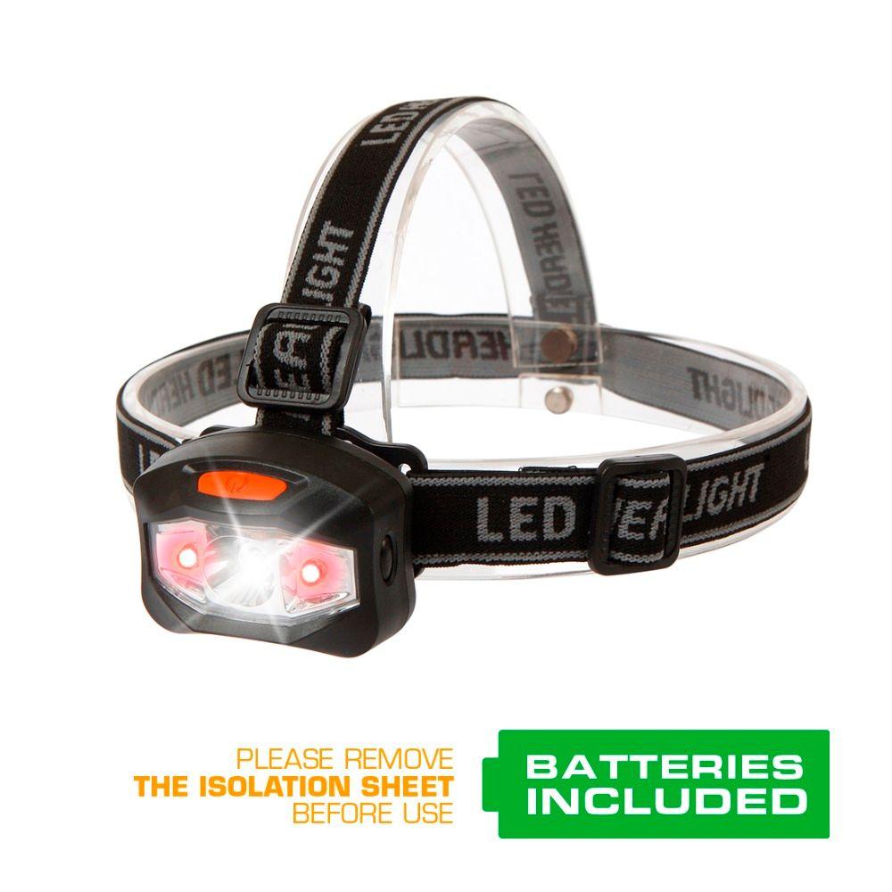 Everbrite headlamp led Q5 head lamp Fishing Headlight camping hike <font><b>emergency</b></font> light