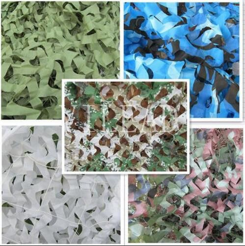 VILEAD 9 Colors 3M*10M Camouflage Netting Reusable Camo Net For Hunting Camping Sun Shade Party Decoration Outside Sun Shade