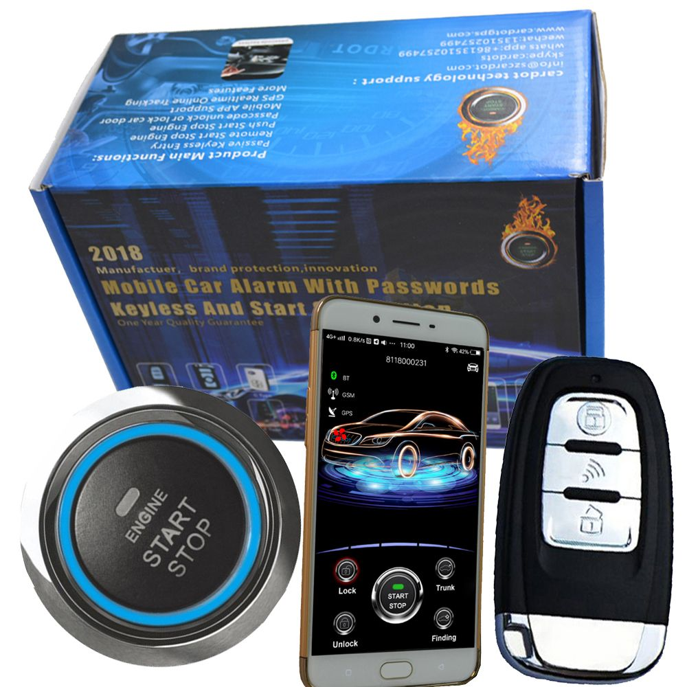car alarm system security bypass chip key immobilizer gps data traffic location sms remote upgrade gps tracking functions