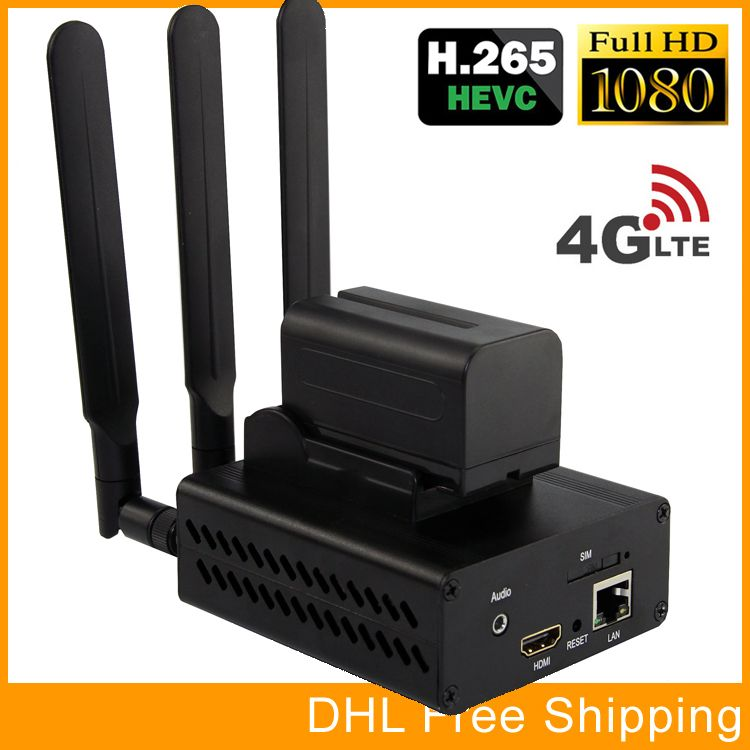 URay HEVC H265 HDMI To IP Live Streaming Encoder H.265 Video Audio Encoder RTMP RTSP Encoder For Live Streaming Broadcast