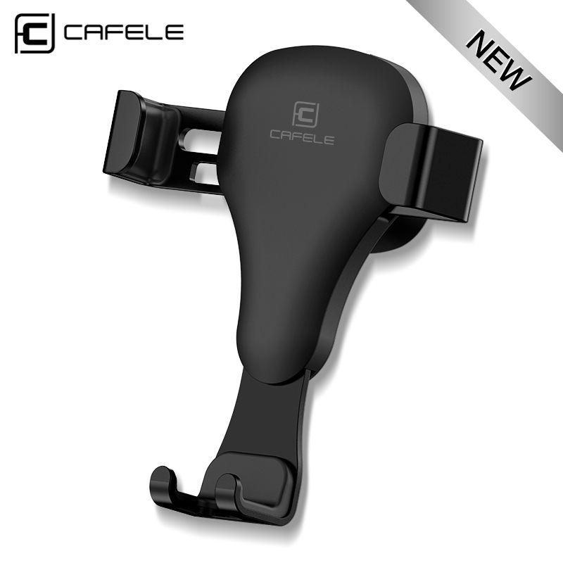 CAFELE schwerkraft-reaktion Auto handyhalter Clip type air vent monut GPS auto handyhalter für iPhone 7 6 s Plus Samsung S8