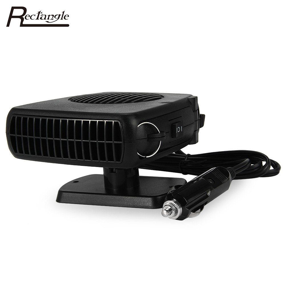 Portable Auto Car Heater Heating Defroster 12V 120W-150W with Swing-out Handle Driving Enthusiasts Car-Styling Demisterr