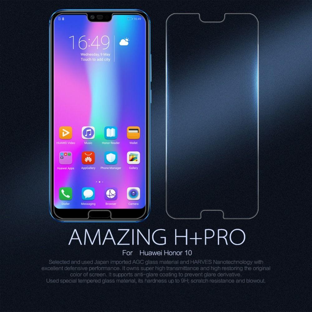 NILLKIN Pour Huawei Honor 10 écran protecteur pour Huawei Honor 10 film H H + Pro Nano trempé verre pour L'honneur 10 de protection film