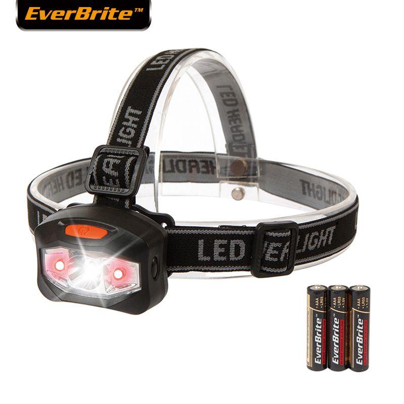 Everbrite projecteur LED Q5 tête lampe De Pêche Phare camping randonnée d'urgence lumière