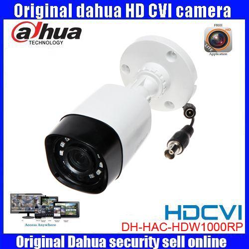 HD720p Dahua HDCVI Kamera 1MP DHI-HAC-HFW1000R HDCVI IR Gewehrkugel-überwachungskamera CCTV IR abstand 20 mt HAC-HFW1000R