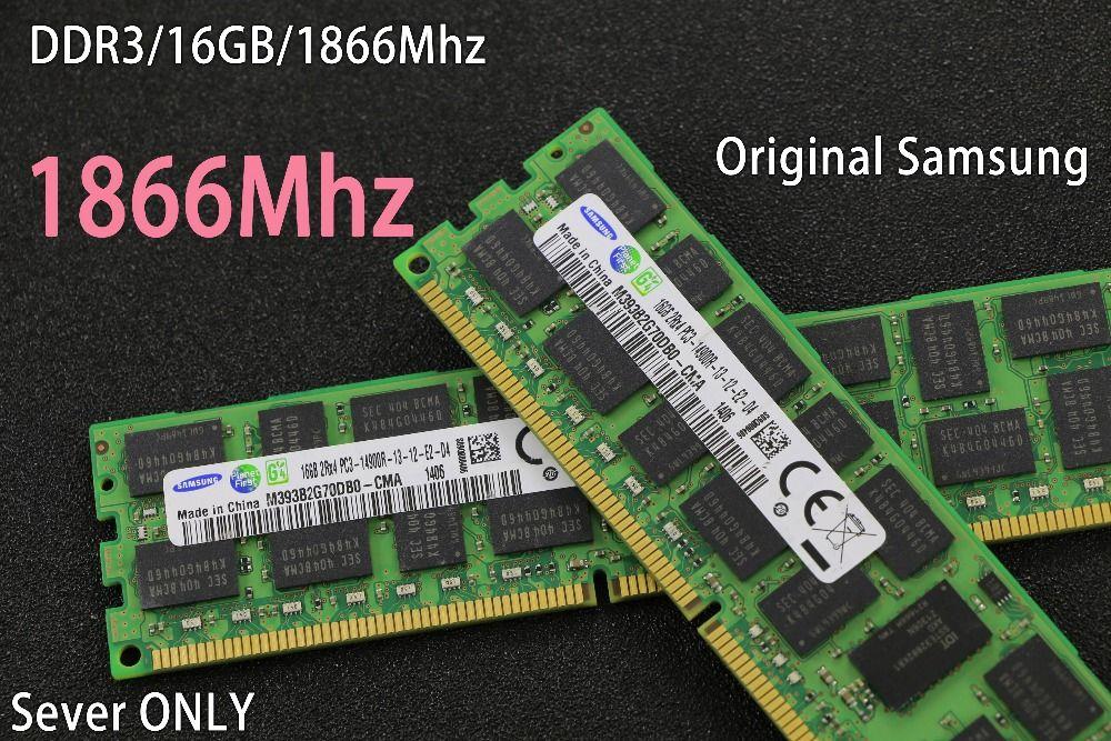 original Samsung 16GB DDR3 1333MHz 1600Mhz 16G 1333 REG ECC server memory RAM work 16gb 24gb 16g 24g 32gb 32g X79 motherboard