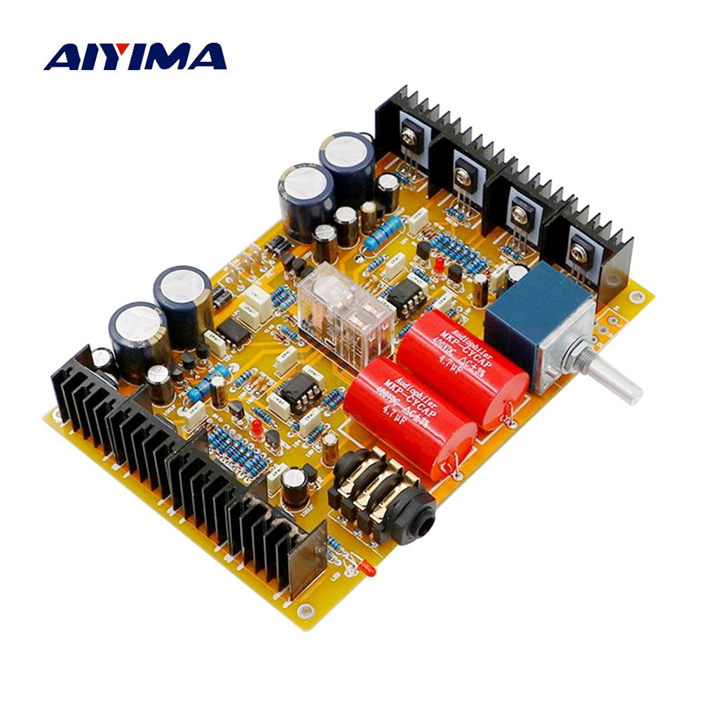 Aiyima hv-1 Усилители для наушников доска собран усилитель для наушников звуковой платы База на Beyerdynamic A1