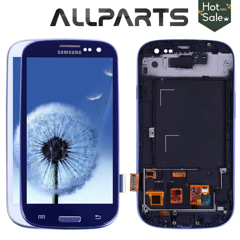 TESTED For SAMSUNG Galaxy S3 Display i9300 Touch Screen Digitizer Replacement For SAMSUNG Galaxy S3 LCD Screen