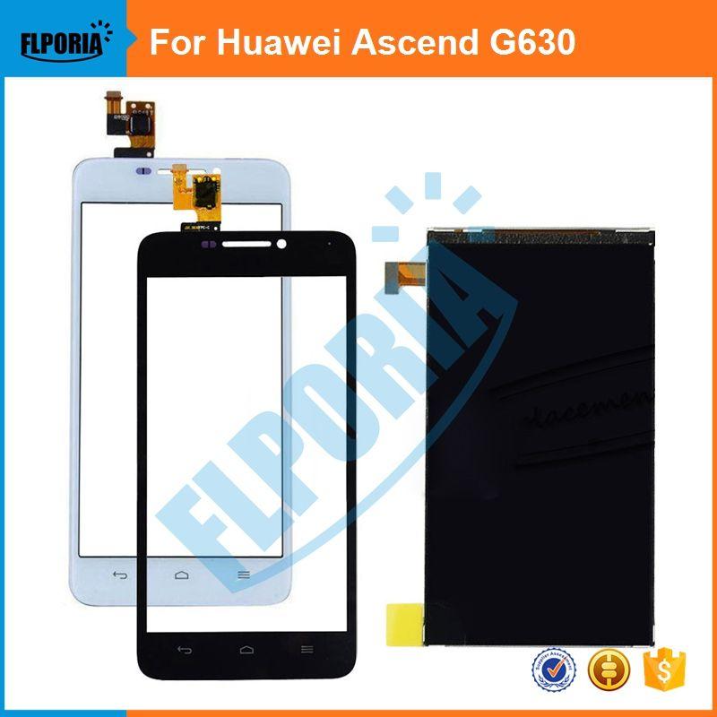1 PCS Pour Huawei Ascend G630 G630-U10 Blanc/Noir LCD Moniteur LCD Affichage et Écran Tactile Digitizer