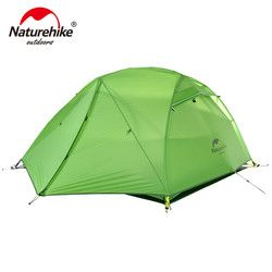 NatureHike Star River Camping Tenda Upgrade Ultralight 2 Orang 4 Musim Tenda dengan Mat NH17T012-T