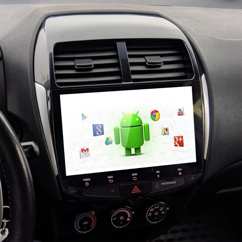 Für Mitsubishi ASX Peugeot 4008 Citroen C4 Luft Kreuz Auto 1 din Android 9.0 Stereo Multi Touch Screen radio MP3 USB multimedia