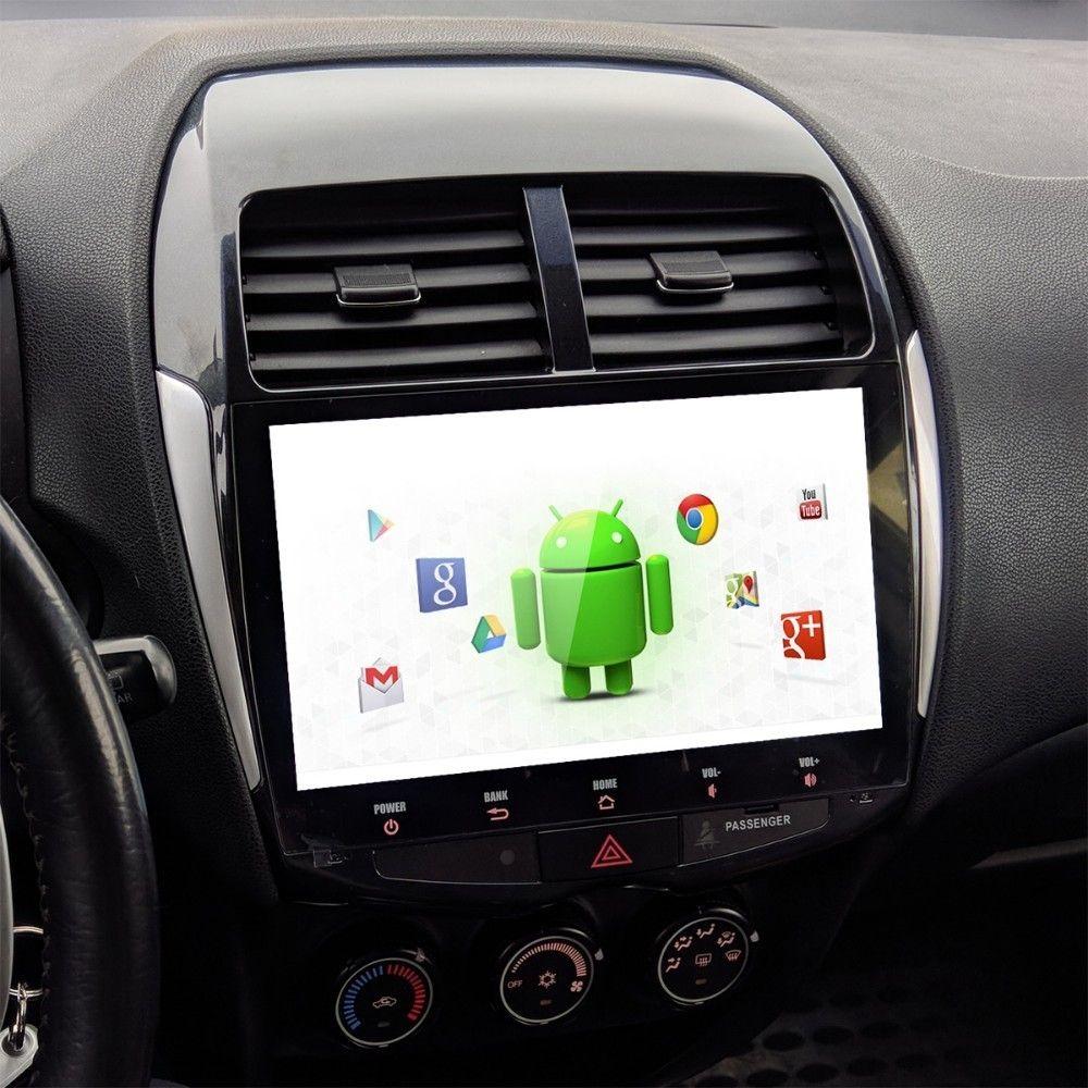 Für Mitsubishi ASX Peugeot 4008 Citroen C4 Luft Kreuz Auto 1 din Android 9.0 Stereo Multi Touch Screen radio MP3 USB multimedia