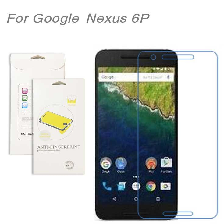 For Google Nexus 6P,3pcs/lot High Clear LCD Screen Protector Film Screen Protective Film Screen Guard For Google Nexus 6P