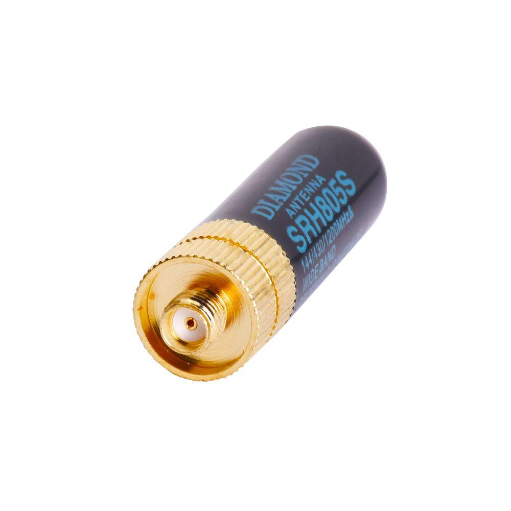 5 cm SMA-F Femelle Double Bande UHF/VHF BAOFENG talkie-walkie Antenne SRH805S DIAMANT D'origine ANTENNE pour BAOFENG UV-5R BF-888S