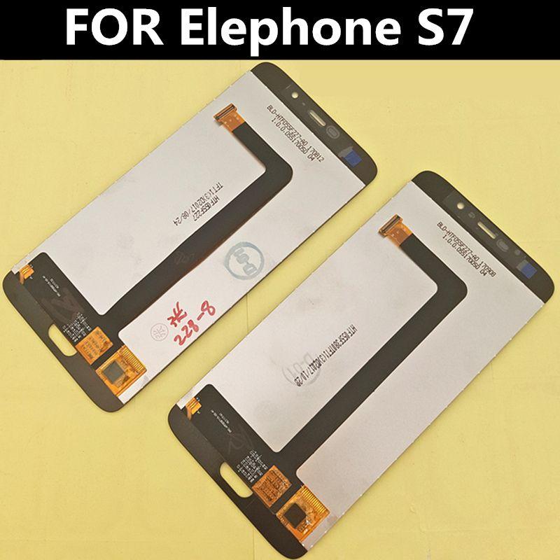 LCD d'origine pour Elephone S7 LCD affichage + écran tactile numériseur assemblée accessoires de remplacement pour téléphone 5.5