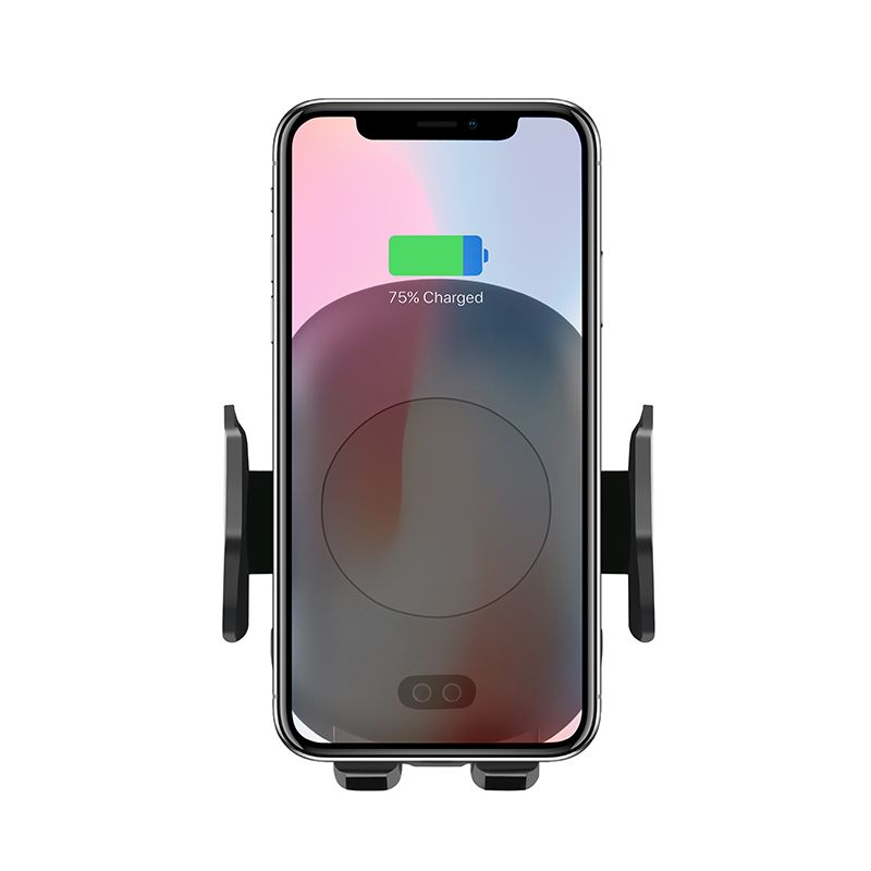 Aiyima 10W QI Wireless Charger Fast Wireless Car Charger Automatic Induction Car Phone Holder For iPhone XS MAX XR 8 Samsung S9