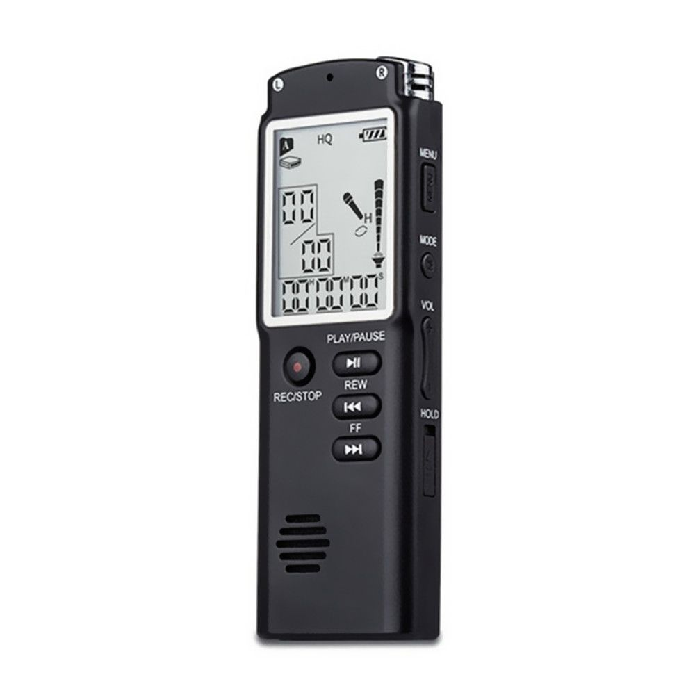 Hot Selling T60 2 in 1 Professional 8GB Time Display Recording Digital Dictaphone Digital Voice Recorder/MP3 player
