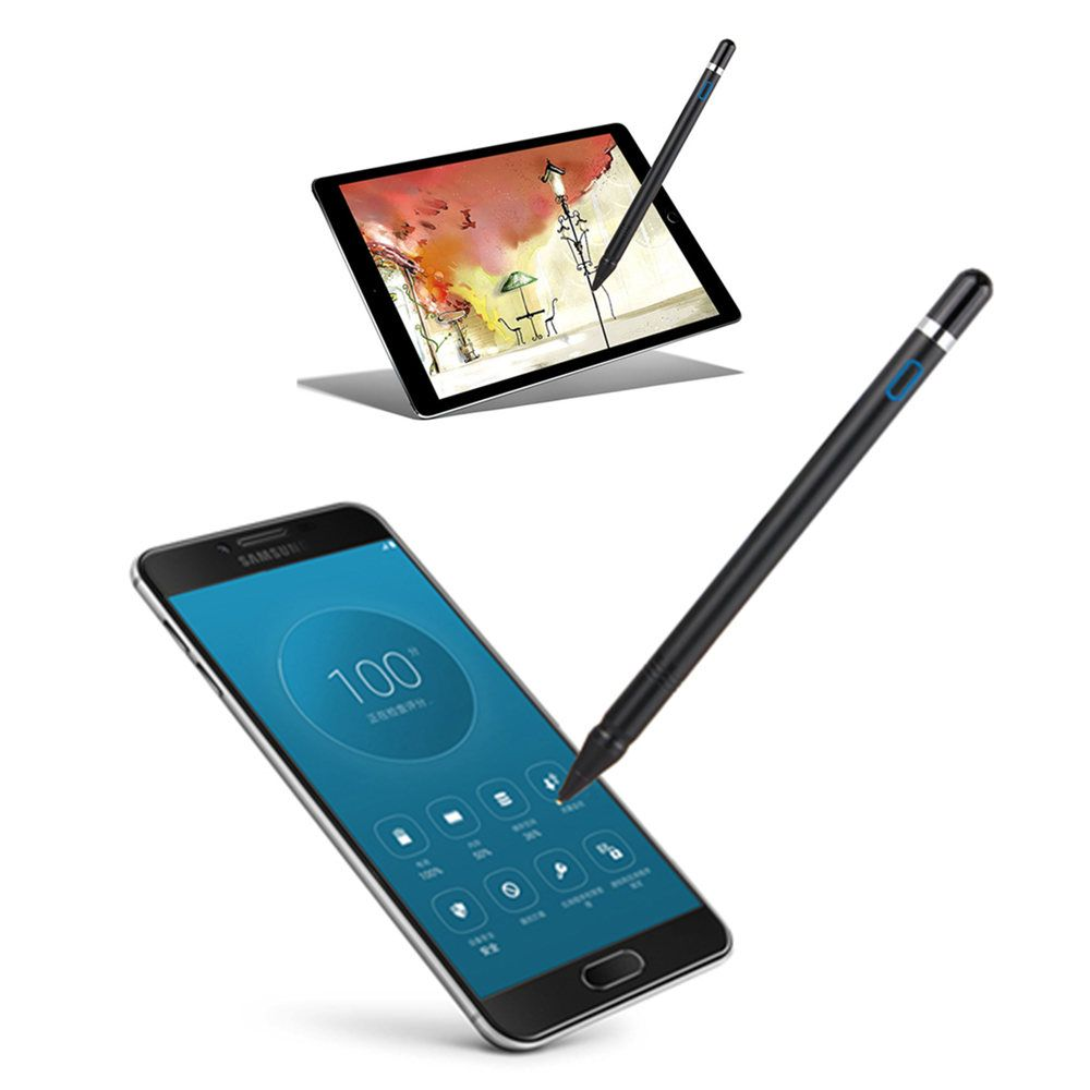 Aktive Stylus Digital Touch Pen NIB 1,3mm Ultra Feine Spitze für iPad HUAWEI Tabletten arbeit zu iOS und Android kapazitiven touchscreen