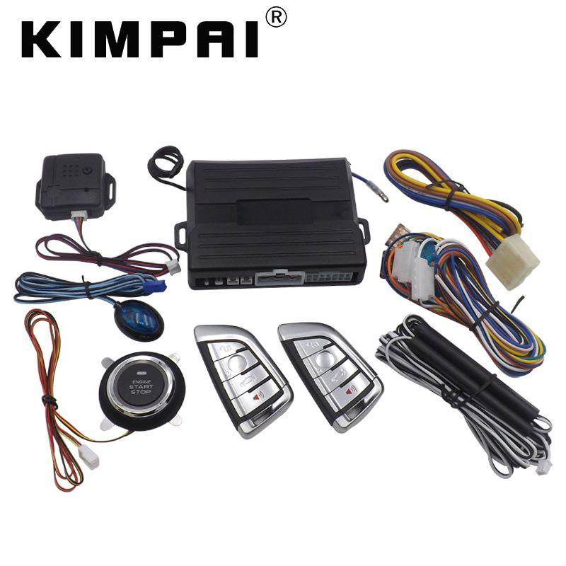 KIMPAI 9004 PKE Car Alarm System For BWM Universal Central Door Locking 40mA PKE Emission Current Remote Trunk Release