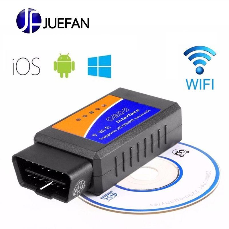 3 pièces ELM 327 V1.5 Bluetooth WIFI USB véhicule outil de Diagnostic OBD2 OBD-II ELM327 voiture Interface Scanner fonctionne sur Android IOS