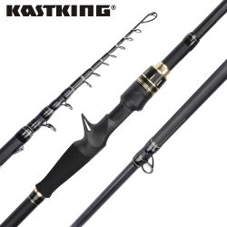 KastKing Alat Blackhawk II Karbon Spinning Casting Rod M, MH Power Ultralight Telescopic Fishing Rod 2.03 M, 2.16 M, 2.21 M, 2.28 M