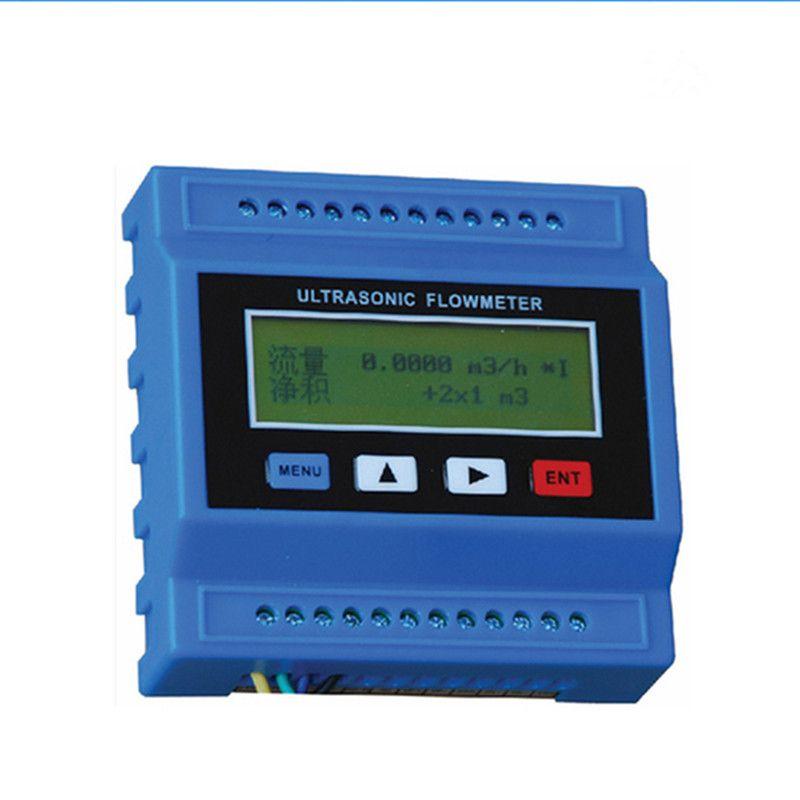 TUF-2000M-TS-2 Digital Ultrasonic Flowmeter Flow Meter Ultrasonic Flow Module RTU with TS2 transducer (DN15-100mm) -30 to 90C