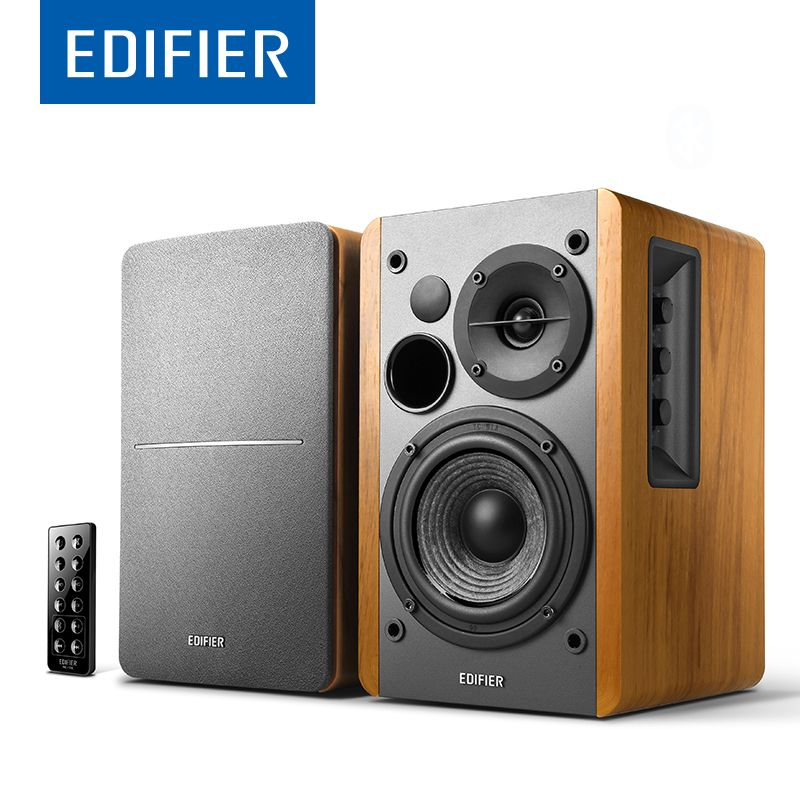 EDIFIER R1280DB High Quality Bluetooth 4.0 Speaker Bookshelf Powerful <font><b>Bass</b></font> And Optical Coaxial Dual RCA Support Remote Control