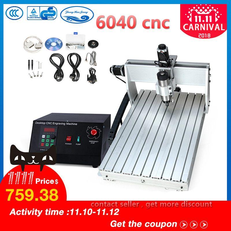 CNC 6040 2.2KW 3 achsen CNC router CNC holz carving maschine USB Mach3 control Holzbearbeitung Fräsen Stecher Maschine mit Gekühlt /Air