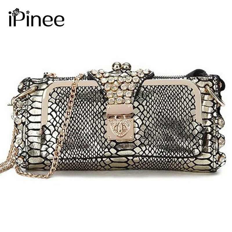 iPinee Hot Selling 2017 Genuine Leather Women Bags Crossbody Ladies' Clutch Bag Woman Messenger Bag